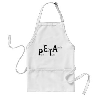 the other PETA Adult Apron