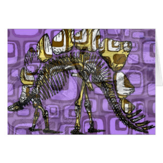 """""""The other purple dinosaur"""" note card"""