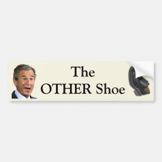 The OTHER Shoe Bumper Sticker