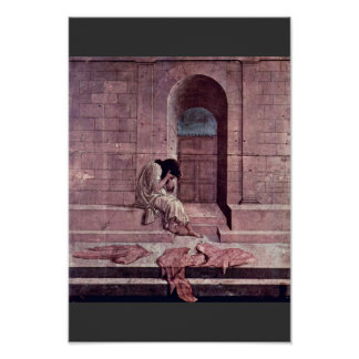 The Outcast By Botticelli Sandro (Best Quality) Poster