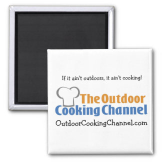The Outdoor Cooking Channel Magnet