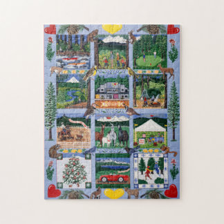 The Outdoor Quilt Puzzle