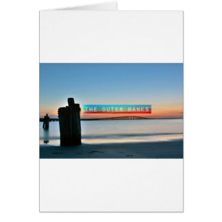 The Outer Banks. Greeting Card