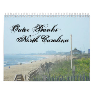 The Outer Banks of North Carolina Calendars