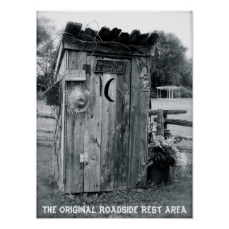 """The Outhouse"" Poster"