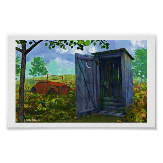 THE OUTHOUSE POSTER