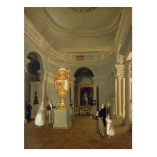 The Oval Hall of the Old Hermitage, St Postcard