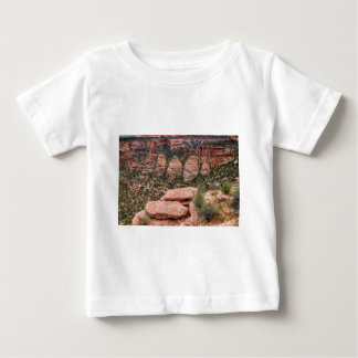 The Ovens Rock Formation Western Landscape Baby T-Shirt