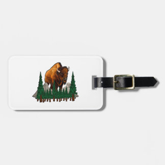 The Overlook Luggage Tag