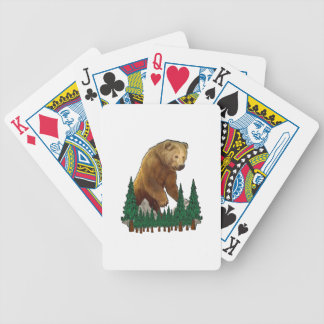 The Oversite Bicycle Playing Cards