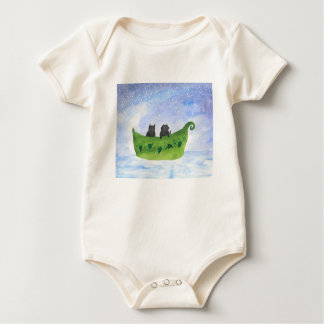 The Owl And the Pussycat Baby Bodysuit