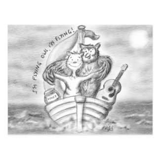 The Owl And The Pussycat Channel The Titanic Postcard