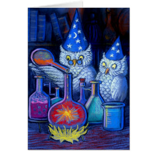 The Owl Chemists Card