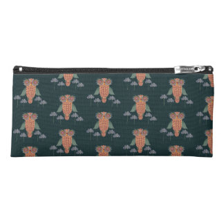 The Owl of wisdom and flowers Pencil Case