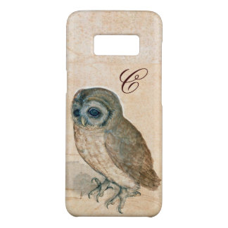 THE OWL , Pink ,Sepia Monogram Case-Mate Samsung Galaxy S8 Case
