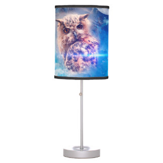 The owl table lamp