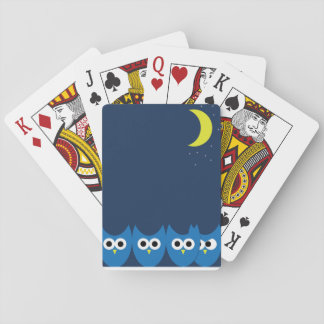The Owls Playing Cards