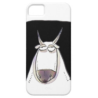 the ox is looking expressionless funny cartoon iPhone 5 covers