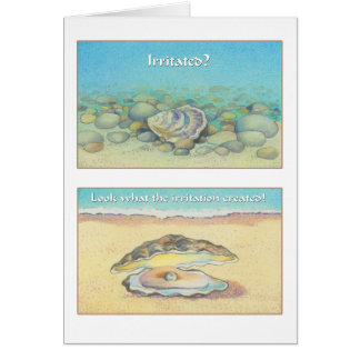 The Oyster and the Pearl - Romans 8:28 Card