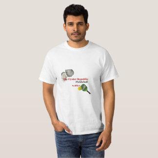 The Oyster Republic Pickleball - Wellfleet T-Shirt