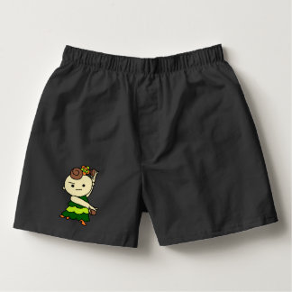 The pa it is the Paris child green Boxers