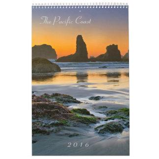 The Pacific Coast 2016 - Seals and Scenics Calendar