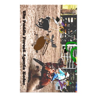 The paddle forest agents rodeo customized stationery