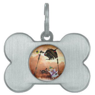 The paddle forest agents take on aliens pet ID tag