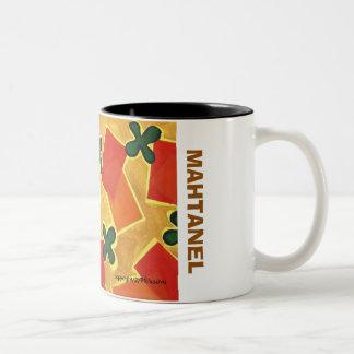 The Paddle & Mat Two-Tone Coffee Mug