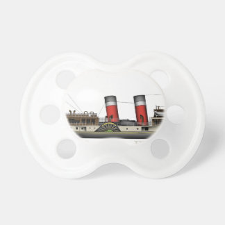 The Paddle Steamer Waverley by Tony Fernandes Baby Pacifier
