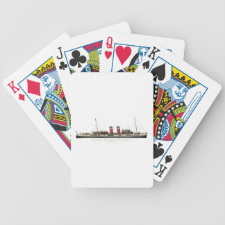 The Paddle Steamer Waverley by Tony Fernandes Bicycle Playing Cards