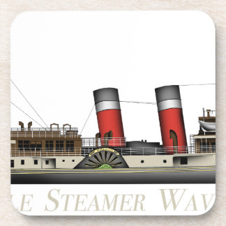 The Paddle Steamer Waverley by Tony Fernandes Coaster