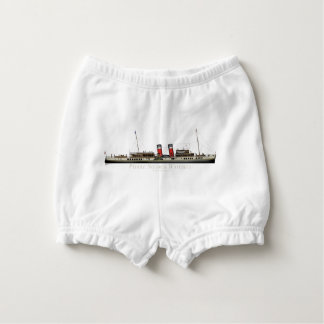 The Paddle Steamer Waverley by Tony Fernandes Diaper Cover