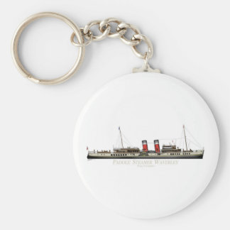 The Paddle Steamer Waverley by Tony Fernandes Keychain