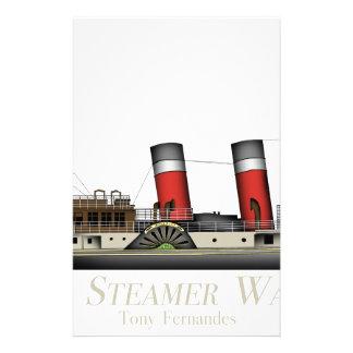 The Paddle Steamer Waverley by Tony Fernandes Stationery