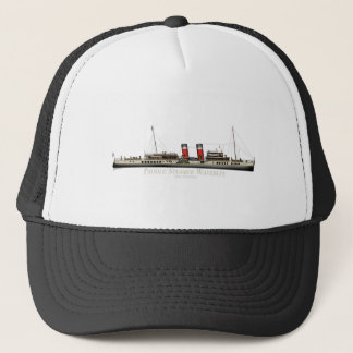 The Paddle Steamer Waverley by Tony Fernandes Trucker Hat
