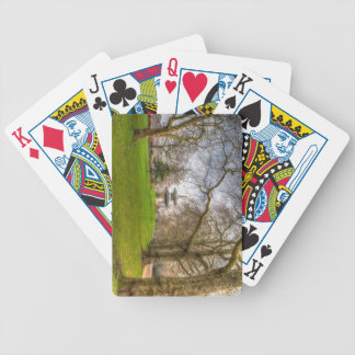 The Pagoda Battersea Park London Bicycle Playing Cards