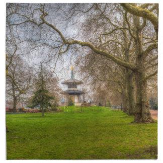 The Pagoda Battersea Park London Napkin