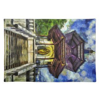 The Pagoda Van Gogh Placemat