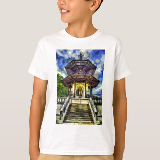 The Pagoda Van Gogh T-Shirt