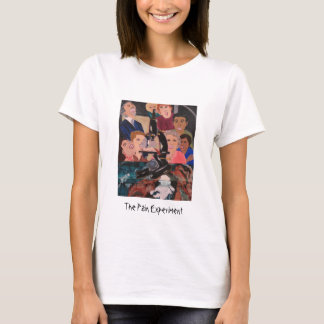 The Pain Experiment womens baby doll tee