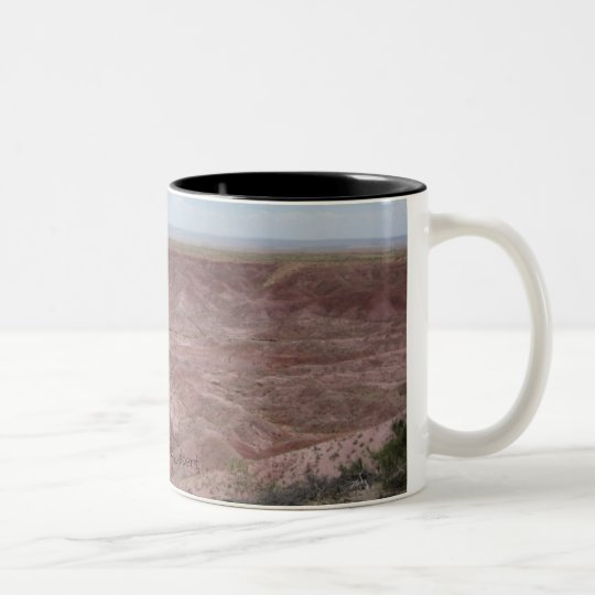 The Painted Desert Two-Tone Coffee Mug