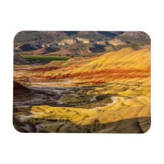 The Painted Hills In The John Day Fossil Beds 3 Rectangular Photo Magnet