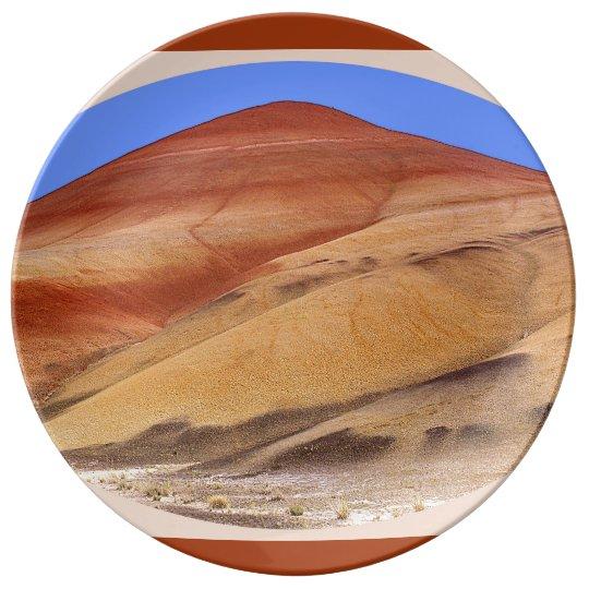 The Painted Hills, Oregon Porcelain Plates