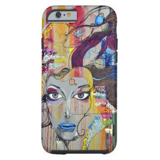 """The Painted Lady"" Graffiti Street Art Tough iPhone 6 Case"