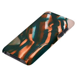 The Painted Lady of the Tigers and Waves iPod Case-Mate Case