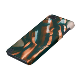 The Painted Lady of the Tigers and Waves iPod Touch 5G Cover