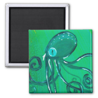 The Painted Octopus Magnet