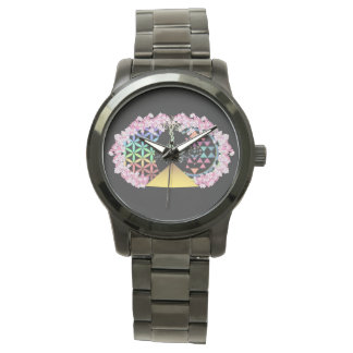 The Painted Pyramid Logo Wrist Watches