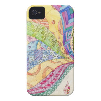 The Painted Quilt iPhone 4 Case-Mate Case
